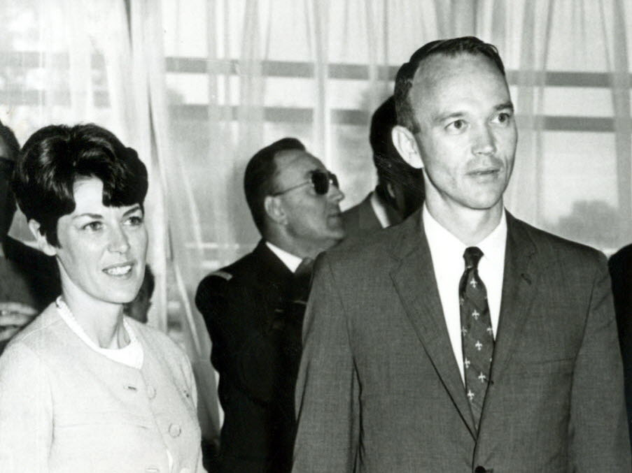 michael collins et Patricia Mary Finnegan